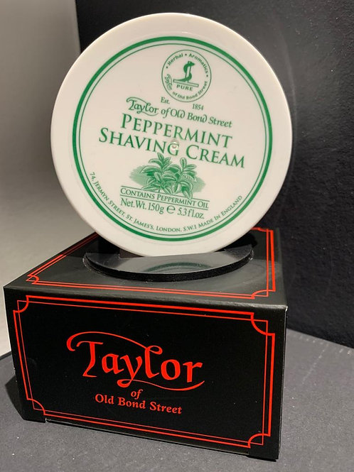 creme a raser taylor of old bond street PEPPERMINT