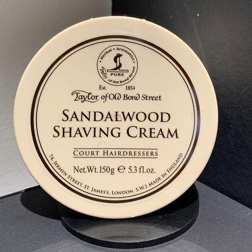 crème a raser Taylor of old bond street SANDALWOOD