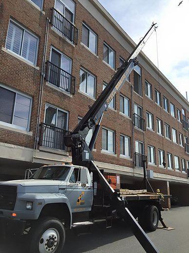 Newport, RI Crane work
