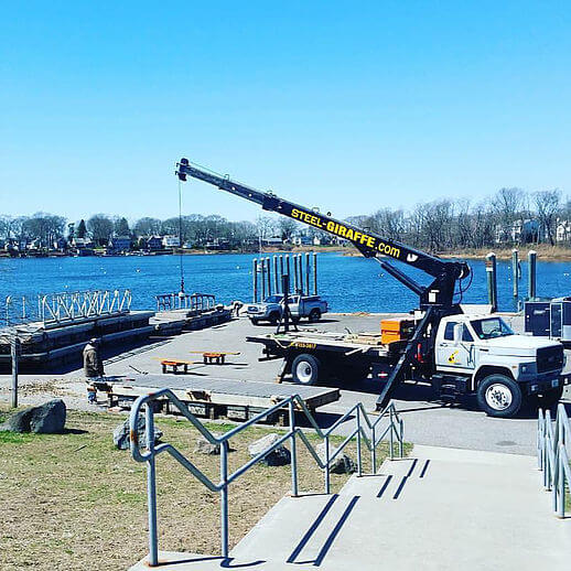 Crane working at Haines Park