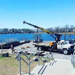 Crane working at Haines Park