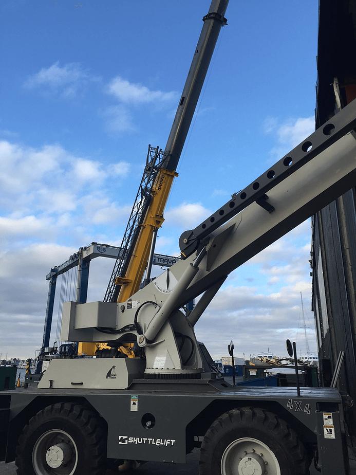 Crane at NSY