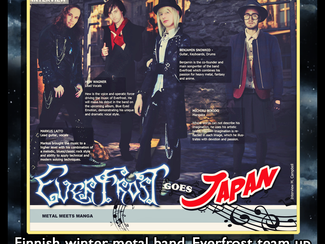 Everfrost and Michiru Bokido Interview and Article