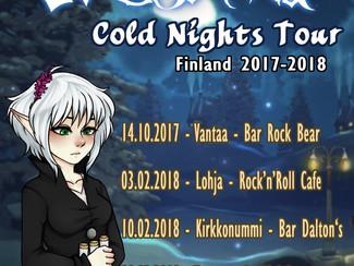 EVERFROST Announces Cold Nights Tour