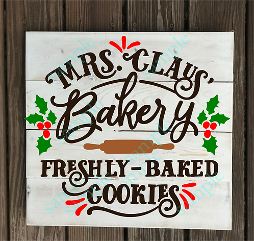 Mrs. Claus Bakery - 14x14