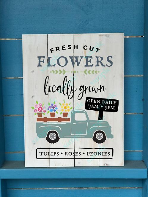 Private - Fresh Cut Flowers Truck