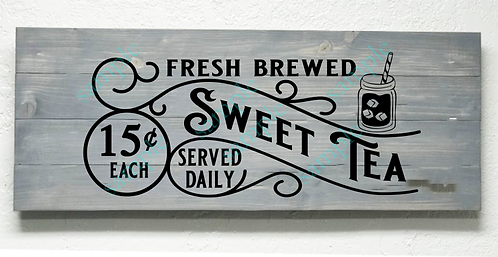 Private - Fresh Brewed Sweet Tea - 16x36