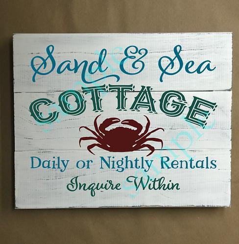 Private - Sand & Sea Cottage - 14x14