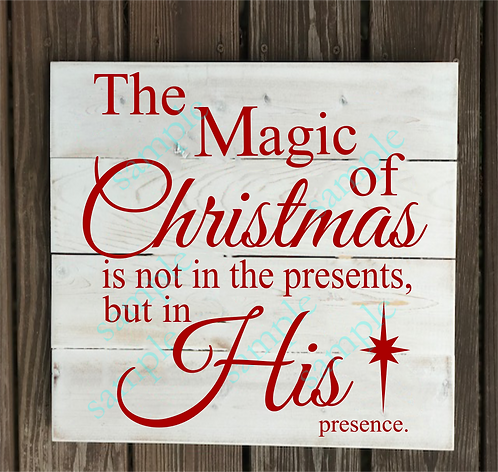 B2S0817 - The Magic of Christmas -14x14