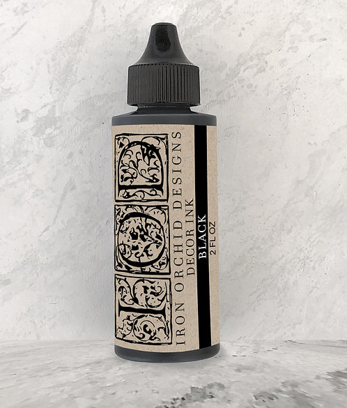 IOD Decor Ink 2 oz - Black