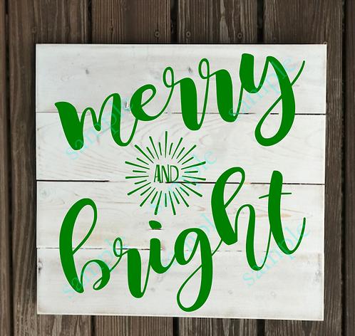 Private - Merry & Bright 2 -14x14