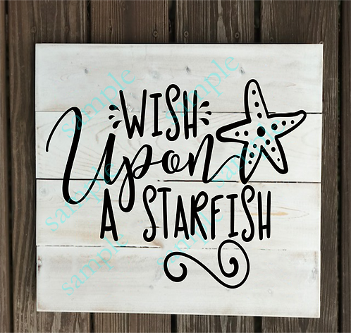 Private - Wish upon a Starfish - 14x14