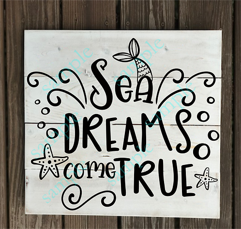 Private - Sea Dreams Come True - 14x14