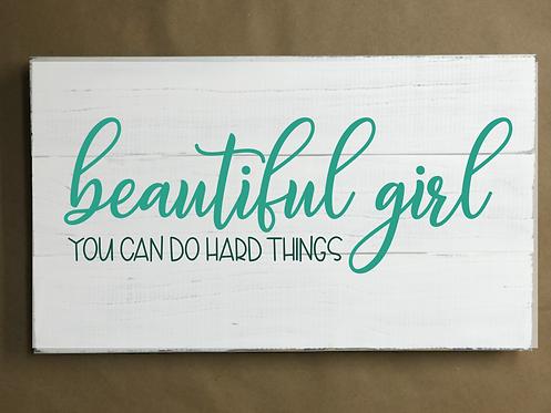 Beautiful Girl - 12x16