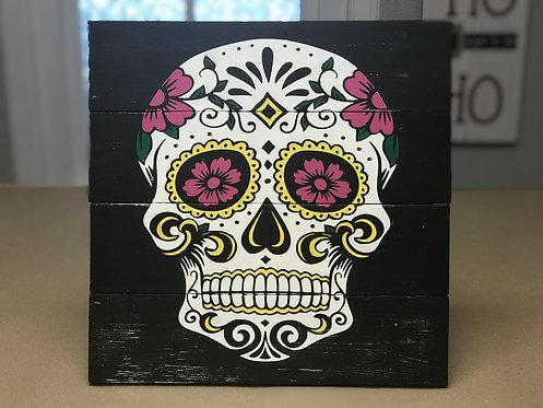 Private - Sugar Skull -14x14