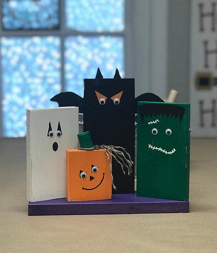 2 Halloween Friends Block Party