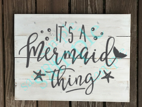 Private - It's a Mermaid Thing -14x14