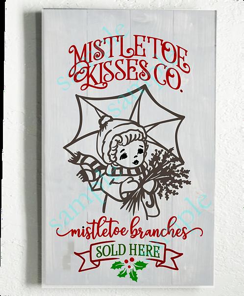 of Private - Mistletoe Kisses - 16x24