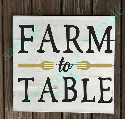 Private - Farm to Table - 14x14