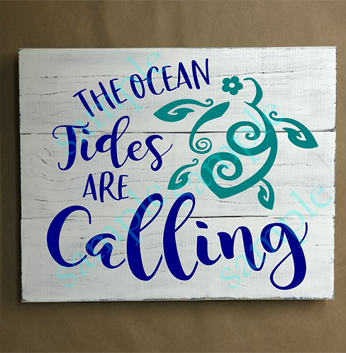 Private - Ocean Tides are Calling -14x14