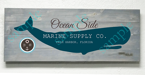 Private - Ocean Side Marine Supply - 16x36