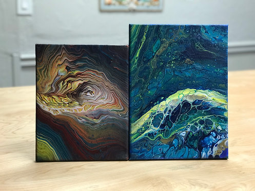Private - Intro to Paint Pouring