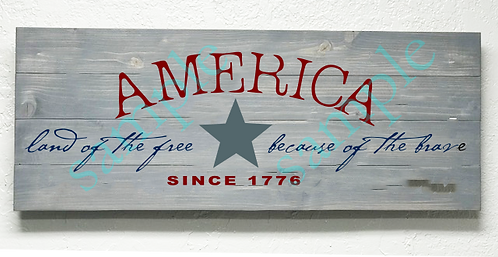 Private - America Since 1776 - 16x36