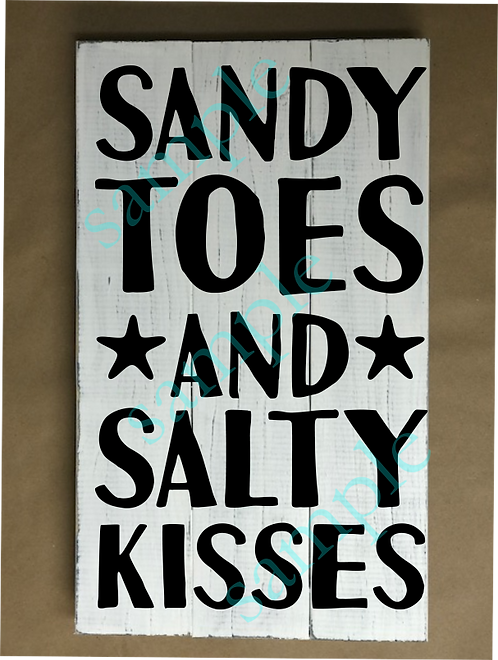 Private - Sandy Toes & Salty Kisses - 12x18