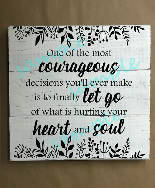 One of the Most Courageous - 14x14