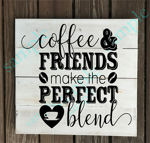 Private - Coffee & Friends - 14x14