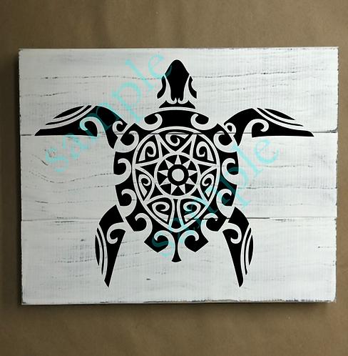 Private - Turtle 4 -14x14