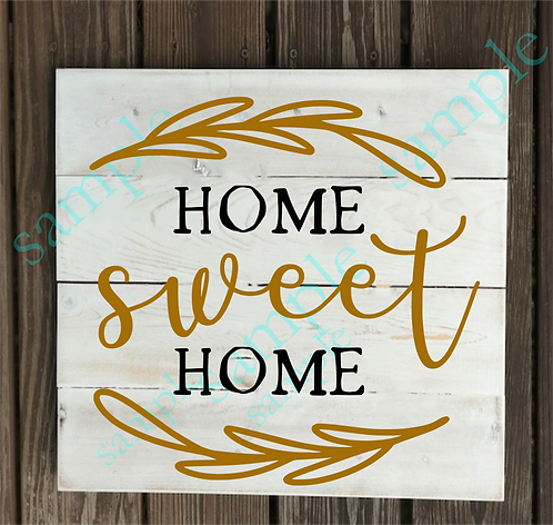 Private - Home Sweet Home - 14x14