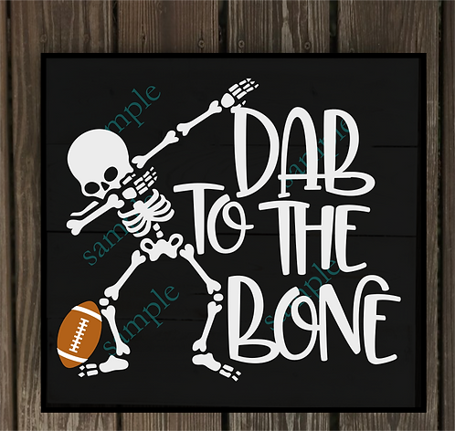 Private - Dab to the Bone -14x14