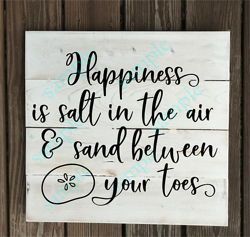 Private - Happiness is Salt in the Air - 14x14