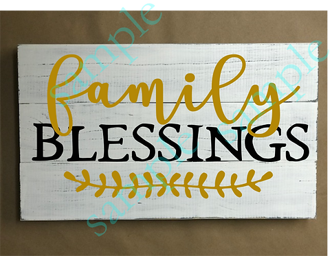 Private - Family Blessings - 12x18