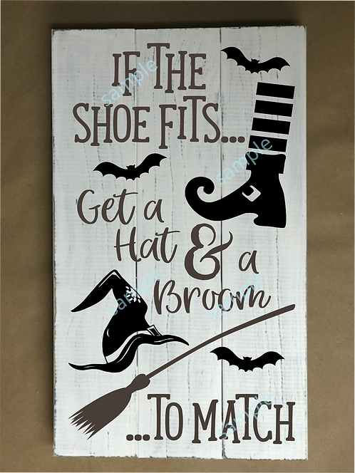 Private - If the Shoe Fits - 16x24