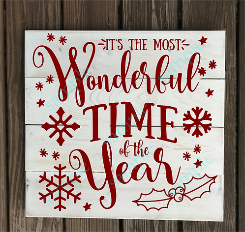 Most Wonderful Time of the Year -14x14