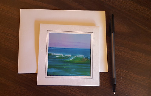 "Coastal 5""x7"" Greeting Card"