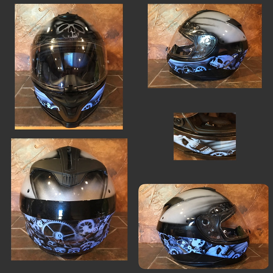 Lumilor Custom Helmet by Candie Cai