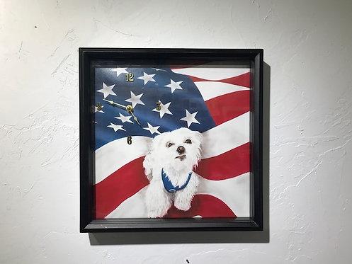 I Pledge Allegiance Clock