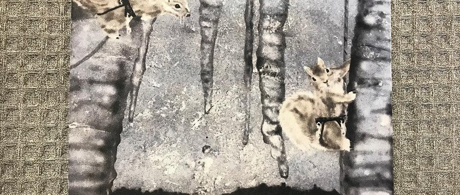 Ice Climbers Mouse Pad