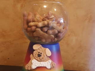 How to make a Clay Pot Doggy Treat Bowl