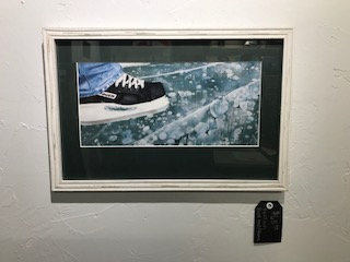 ICE River Skate Matted and Framed