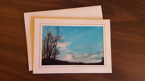 "Cloudy Days 5""x7"" Greeting Card"