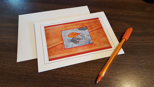 """Floating 5""""x7"""" Greeting Card"""