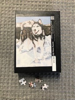 Mountain Dog Puzzle by Candie Cain