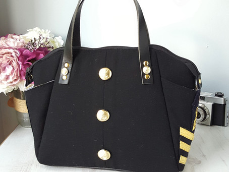 Behind the uniform (bag)