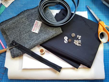 What goes into a Handbags and Home handmade bag?