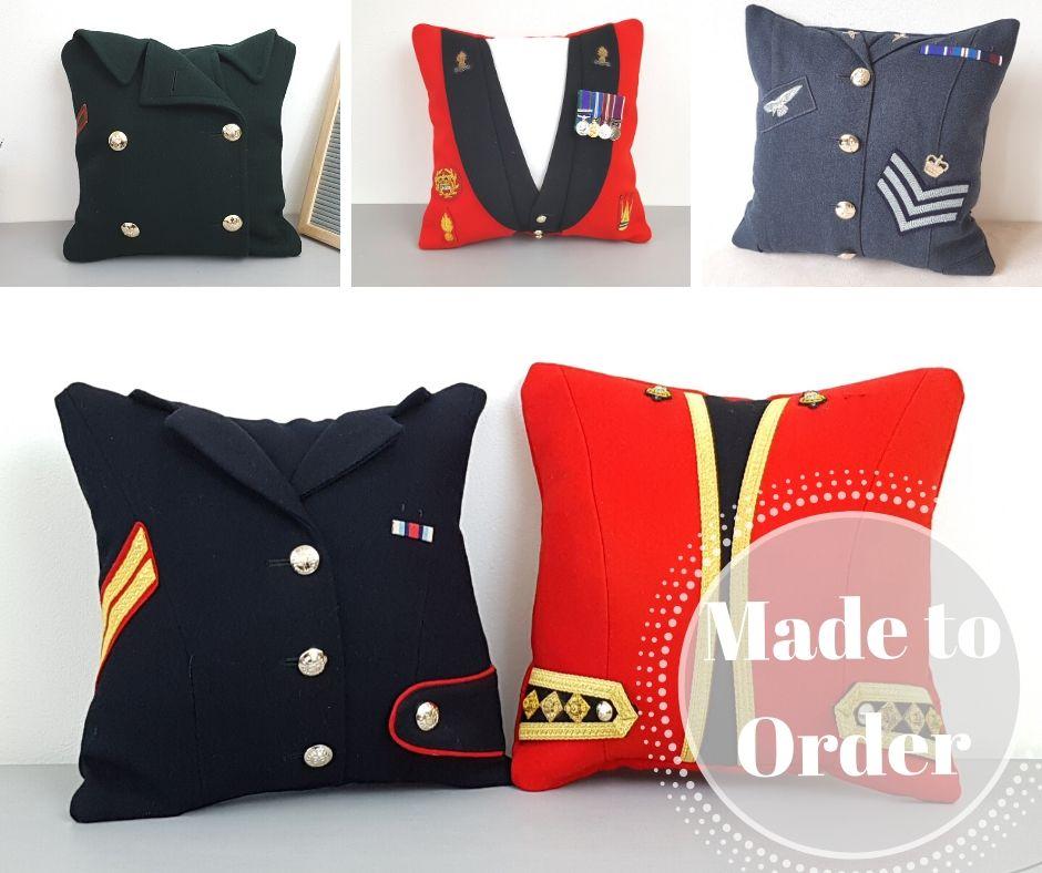 Uniform Cushion - From £40