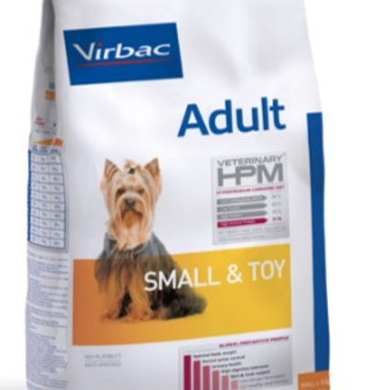 ADULT Dog Small & Toy * 3 KG